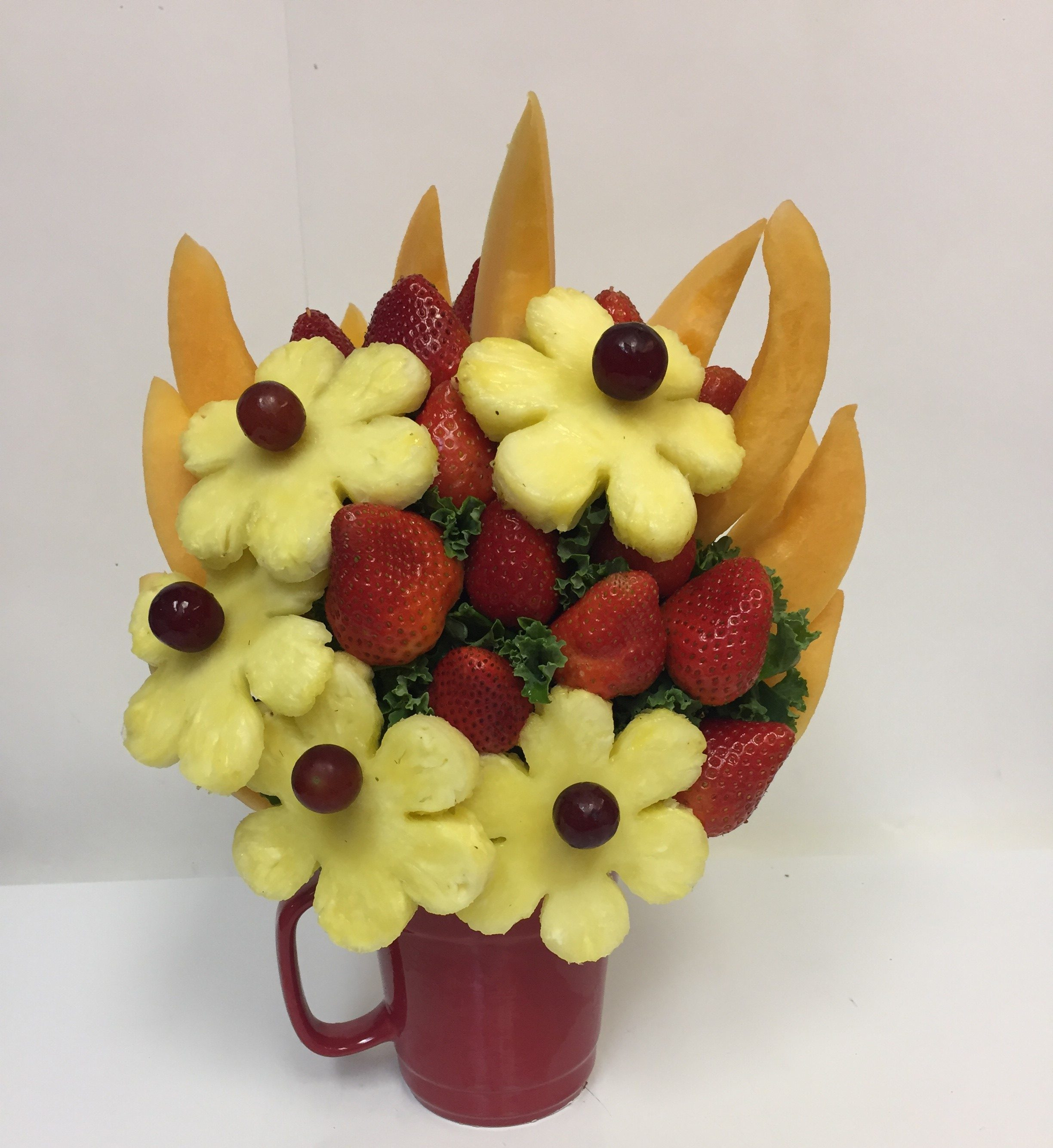 Pineapple Punch Bouquet Oh My Fruit Creations Fruit Gift Baskets